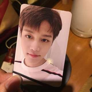 WTT nct 127 taeil regulate photo card