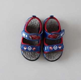 Baby Toddler Disney Cars Lightning Mcqueen Walking Sandal Shoes