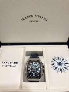 Franck Muller Vanguard 'Yachting' Stainless Steel **Brand New**