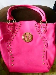 Pink Fashion Tote Bag
