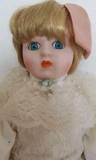 Porcelain doll from US