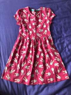 Girl Dress - Rabbit/ Bunny