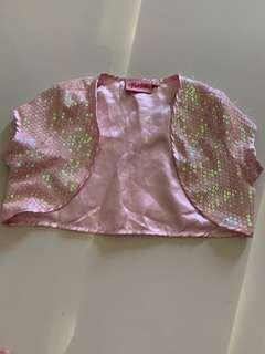 Barbie pink shimmering jacket