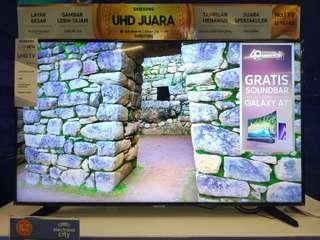 TV LED Samsung 50 inch 4K+Soundbar HW-M360 Promo Kredit Tanpa Kartu Kredit
