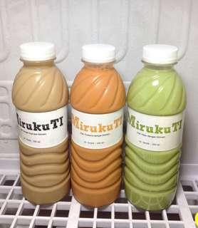 MirukuTi (Milk tea : Green tea, Thai tea & Coffee Tea)