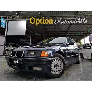 bmw 318i e36 (auto) car king guarantee 1996 model