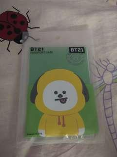 Ready Stock official bt21 passport case