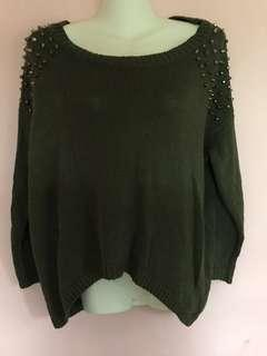 Knitted Top green