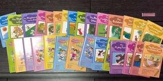 兒童益智英文故事書+CD 套裝 (各30)