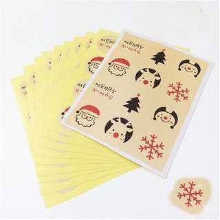 🚚 🌟BN INSTOCKS Merry Christmas Stickers Sheets V11