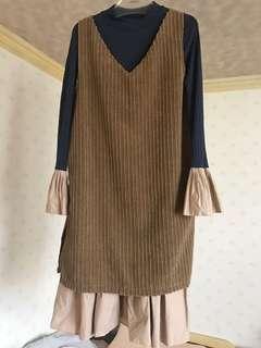 🚚 兩件式洋裝
