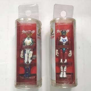 Microman 微星小超人 - 龍之子 系列 Polymer 破裹拳 Volter 兩款 2003年 TAKARA 出品 < 不設散賣>