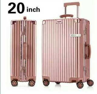 Aluminum frame trolley case 20 inch / 28 inch suitcase fashion trend suitcase-intl