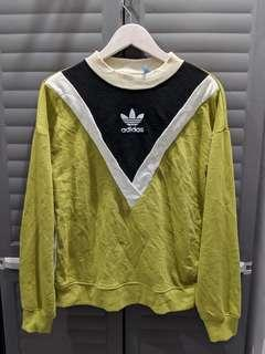 Vintage Adidas Olive Green Pullover