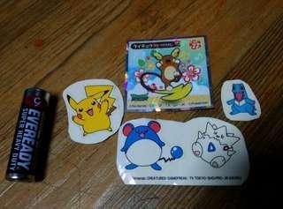 Authentic Pokemon Stickers Set