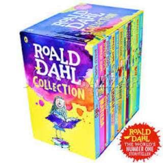 15 Roald Dahl Storybook Collection