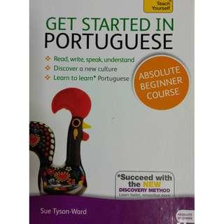 New Get Started in Portuguese Teach Yourself Absolute Beginner Course (NEAREST MRT)