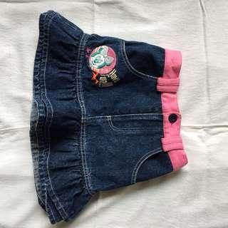 Disney Jeans Skirt