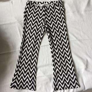 H&M Black And White Leggings