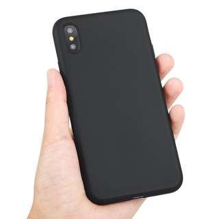 Plain Black Soft Matte Case Iphone 6 6s Plus 7 8 Plus x Xs