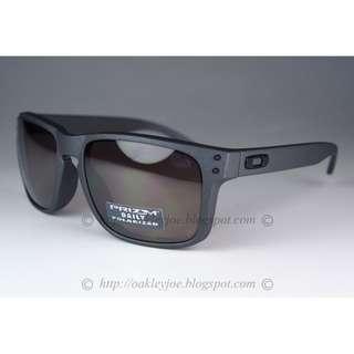ed965f8701 BNIB Oakley Holbrook steel + prizm daily polarized oo9102-B5 sunglass
