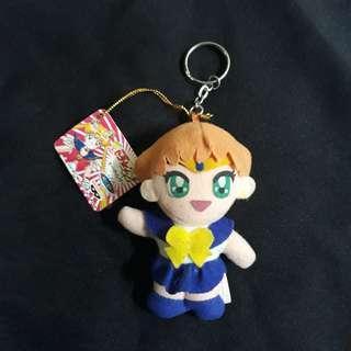 Sailor Moon (Uranus) plush keychain with tags