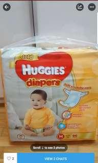 Huggies Diapers Gold M size