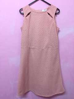 Unica hija pink floral dress