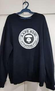 AAPE by A Bathing Ape Pullover/Sweater Dark Blue
