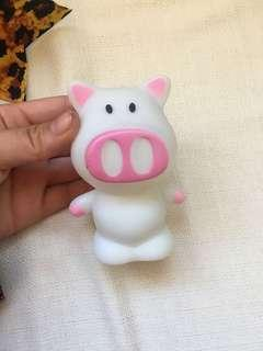 Colour changing light up pig