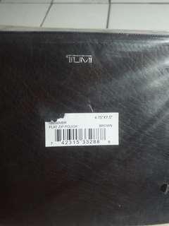 Tumi Flat Zip Pouch