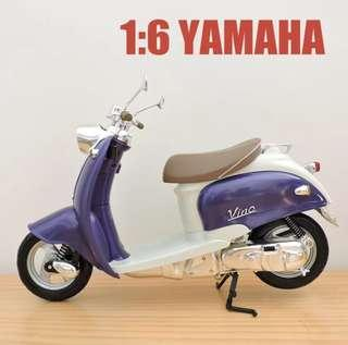 1:6 Scale YAMAHA VINO SCOOTER MODEL YJ 50R 躍馬綿羊仔電單車,(合12吋/1:6 figure) Pic 5,6  For reference only