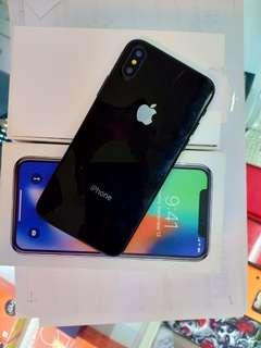 Promo Bunga 0% Apple iPhone X 64GB Space Gray Garansi Inter