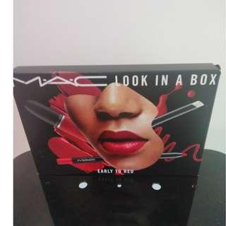 BRAND NEW MAC LOOK IN A BOX EARLY TO RED