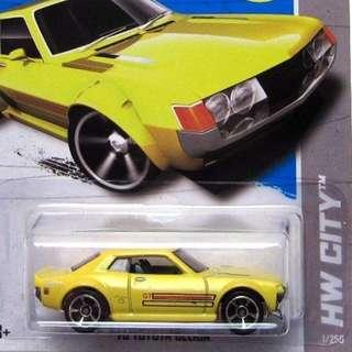 Toyota Celica - Yellow - From the 2013 HW City Series - X1862 - B16