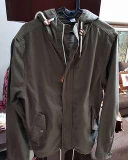 H&M Parka Jacket Olive