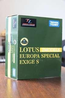 TAKARA TOMY TOMICA LIMITED 10th ANNIVERSARY - LOTUS 2MODELS EUROPA SPECIAL EXIGE S