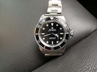 Vintage Rolex Submariner 14060 Automatic Watch