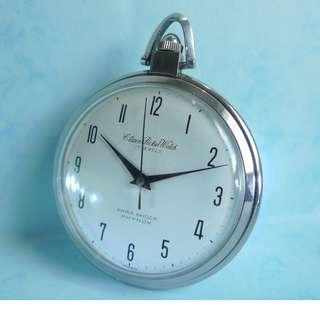 1960s' Citizen 17-J Para Shock Phynox  Pocket Watch.....Hand-Winding