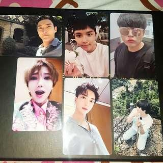 Super Junior One More Time Special Vers. Photocards