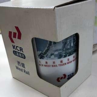 KCR West Rail Tsuen Wan West Station Limited Edition Mug九廣鐵路西鐵荃灣西站限量版杯