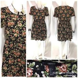 👗 Forever 21 Beautiful floral dress in soft cotton fabric