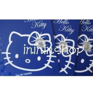 全新原裝 Hello Kitty Eau De Toilette Diamond Perfume 限量版精美 鑽石系列咭裝香水