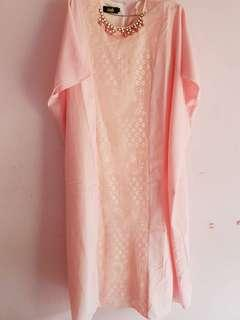 FREE ONGKIR‼️ Pinky Long Dress
