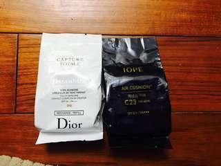 🚚 氣墊粉餅蕊Dior /iope 一個550