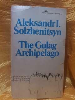 Pre-loved Books: The Gulag Archipelago by Aleksandr Solzhenitsyn