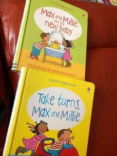 Max and Millie - 2 books