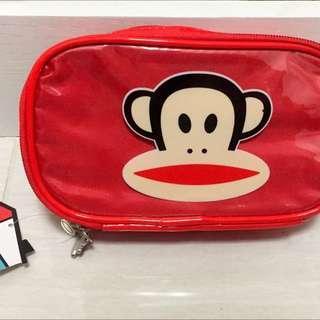 【全新】大嘴猴鉛筆盒