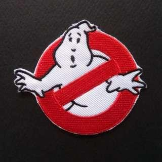 Ghostbusters Logo Iron On Patch