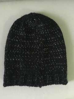 Terranova Black Beanie/Winter Beanie